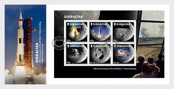 Moon Landings 50th Anniversary - First Day Cover