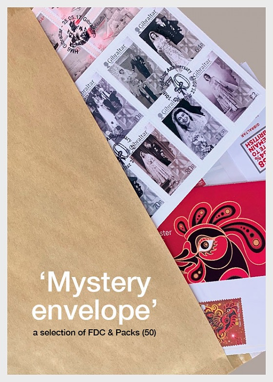 Special Offer: Mystery Envelope of FDC & Packs. Only £59.95! - Collectibles