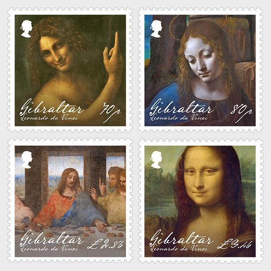 Leonardo Da Vinci - Set Mint - Set