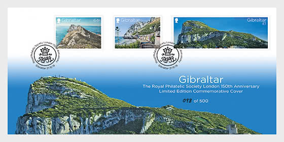 150th Anniversary RPSL LTD Cover - First Day Cover