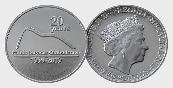 Ombudsman £5 Coin - Single Coin