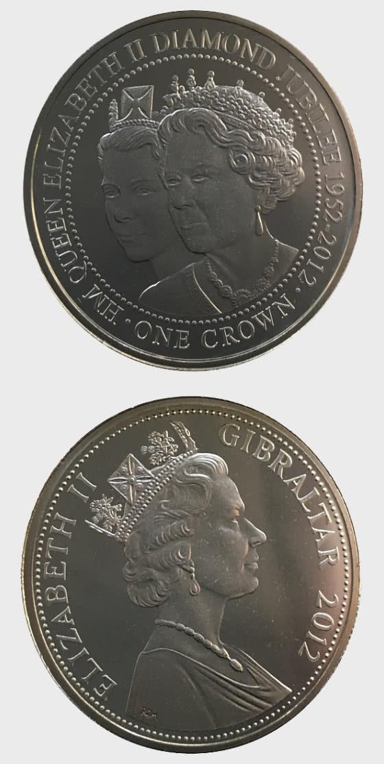 25% OFF Diamond Jubilee - Double Portrait 2012 - Commemorative