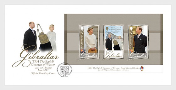 Royal Visit of TRH The Earl & Countes - First Day Cover