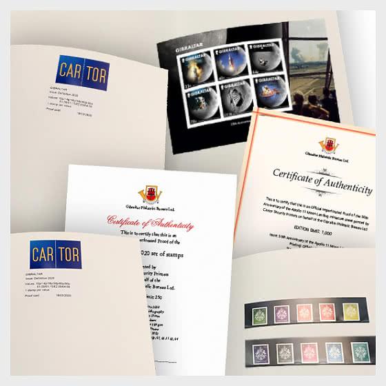 Oferta Especial: Paquete De Prueba Imperforada De Edición Limitada Con 40% De Descuento. Ahorras £ 17.96 - Coleccionable