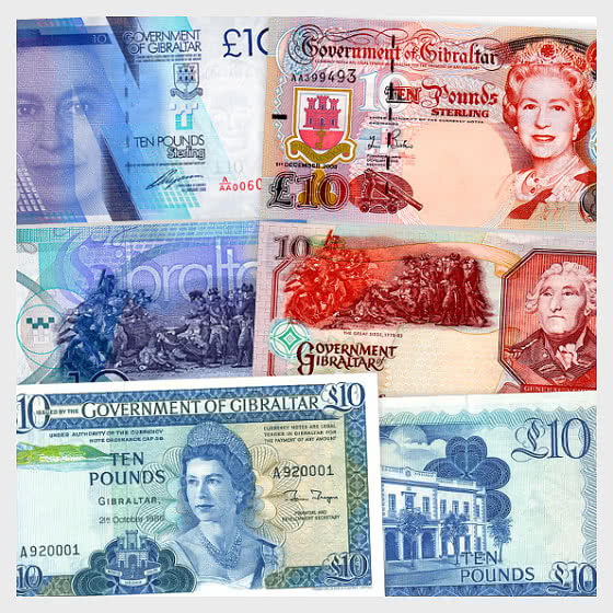 Special Offer: Gibraltar £10 Banknotes Bundle with 20% Discount. YOU SAVE £12 - Banknote