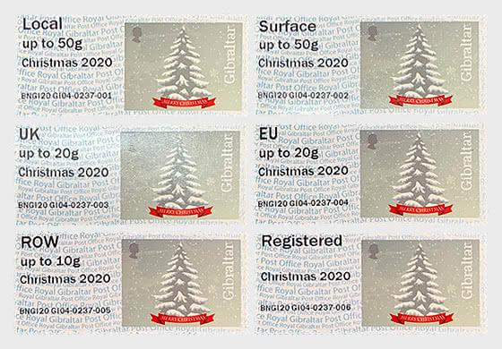 Post & Go - Christmas 2020 - Set