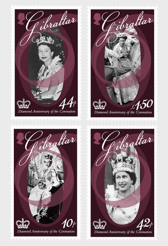 Diamond Ann of the Coronation - Set Mint - Set