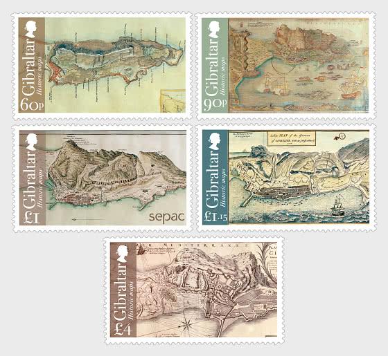 SEPAC -  Historic Maps - Set