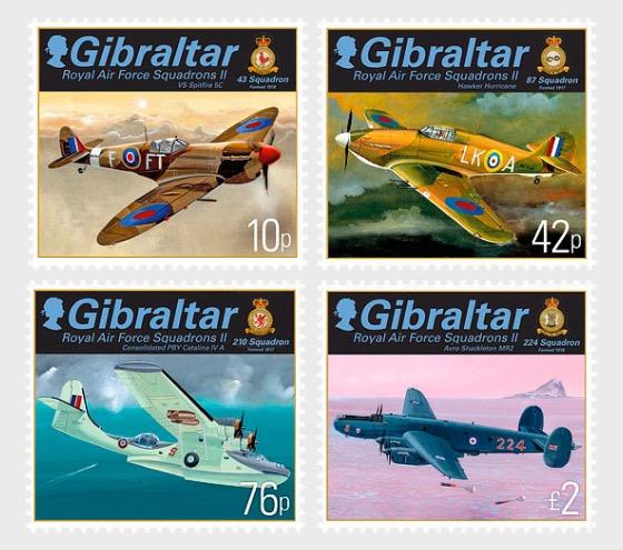 RAF Squadrons II - Set Mint - Set