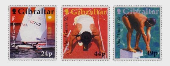 Gibilterra Giochi delle Isole - Serie