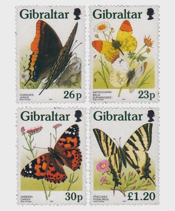 Butterflies in Gibraltar - Set