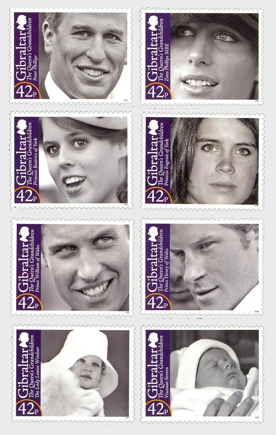 HM Queen Elizabeth II's Royal Grandchildren - Set