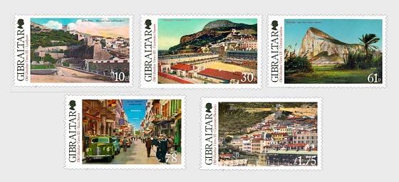 Old Gibraltar Views III - Set Mint - Set