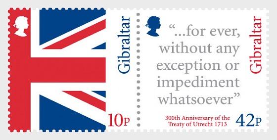 300th Ann Treaty of Utrecht - Mint - Set