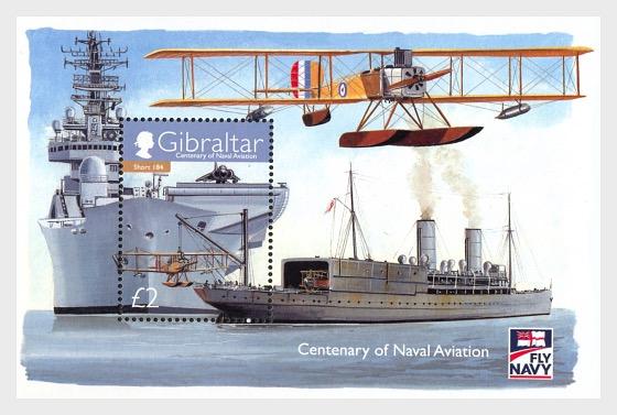 Centenary of Naval Aviation - Miniature Sheet