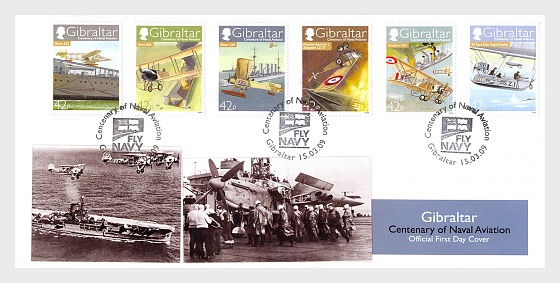 Centenary of Naval Aviation - First Day Cover