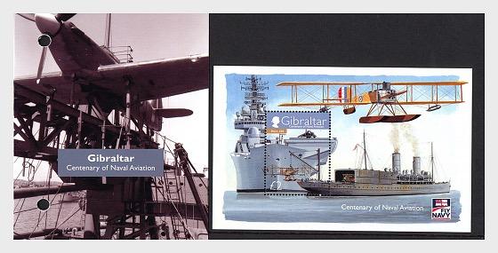 Centenary of Naval Aviation - Pack Miniature Sheet