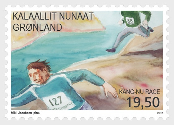 Sports in Greenland II 2/3 Kang-Nu race - Set