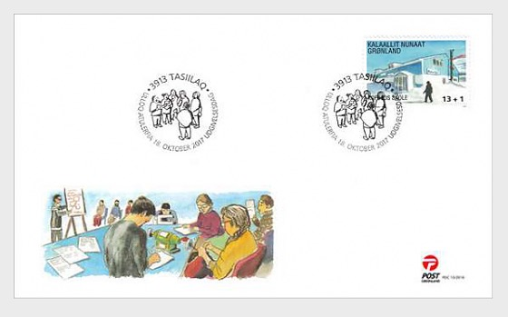 2017 Additional Value-Kofoed´s School Nuuk - (FDC Stamp) - First Day Cover