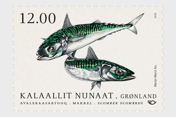 Fish in Nordic Waters 2018 - (Mackerel) - Set
