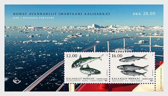 Pescado en Aguas Nórdicas 2018 - Hojas Bloque