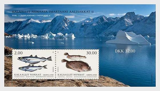 Pescare in Groenlandia II - Foglietti