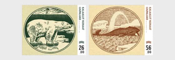 Billetes Viejos de Banco Groenlandeses III - Series