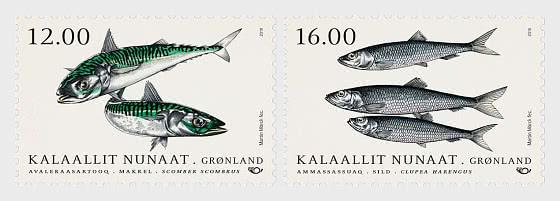 Fish in Nordic Waters 2018 - Set