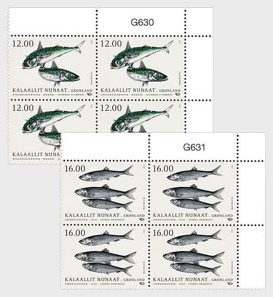 Pescado en Aguas Nórdicas 2018 - Bloque de 4