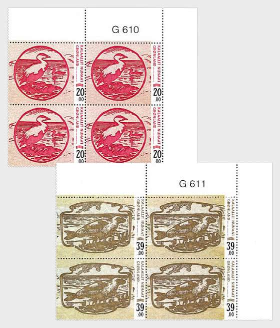 Billetes Antiguos - Bloque de 4