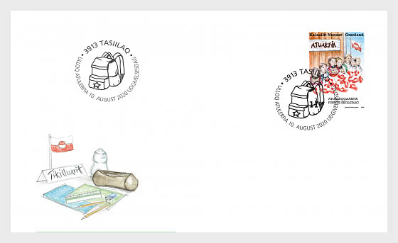 First Day in School - FDC Set  - First Day Cover