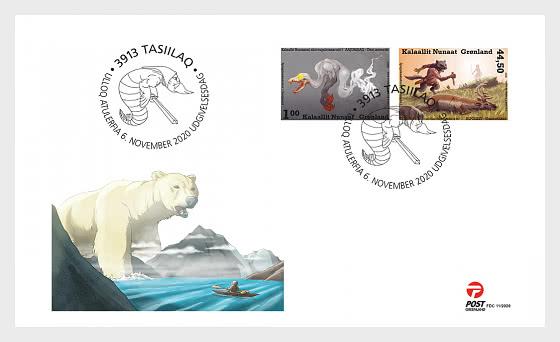 Histoires de Fantômes au Groenland I - Enveloppes de Premier Jour