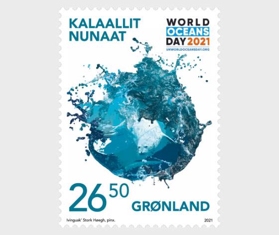 联合国世界海洋日 - 套票