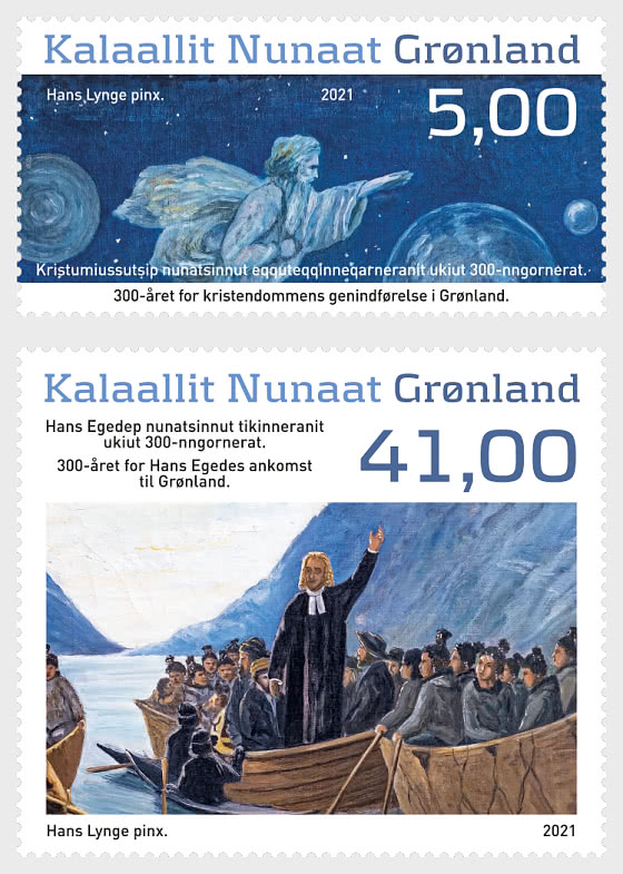 300 Ans De Christianisme Et Hans Egede - Séries