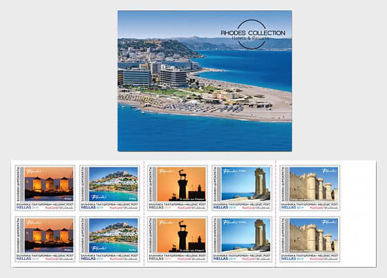 Rhodes Collection - SB - Stamp Booklet