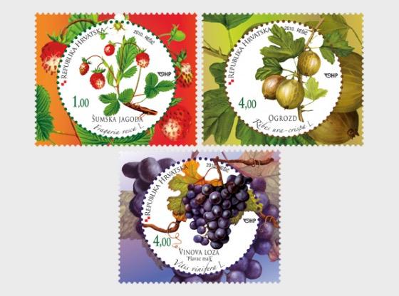 Kroatische Flora 2010 – Früchte - Serie