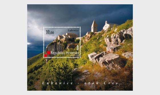 Lubenice – Island Cres  - Miniature Sheet