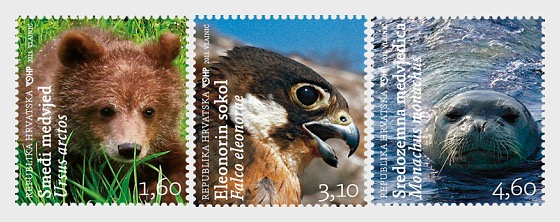 Croatian Fauna 2011 - Set