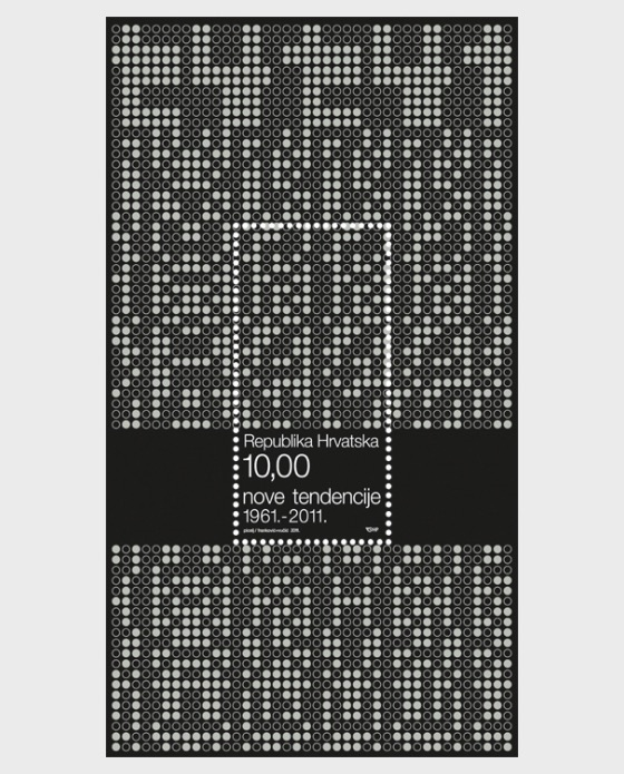 New Tendencies - 50th Anniversary - Miniature Sheet