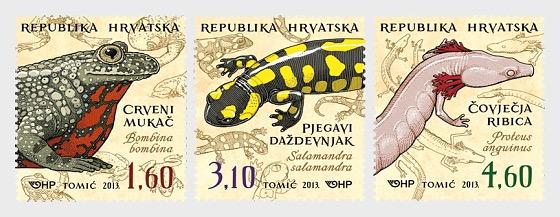 Fauna croata - Anfibios - Series