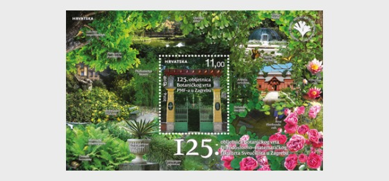 125e anniversaire du Jardin botanique - Blocs feuillets