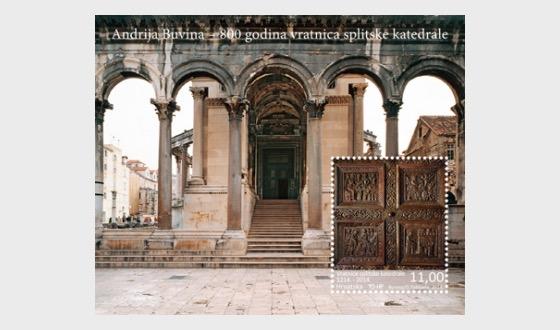800 ans du portail de la cathédrale de Split - Blocs feuillets