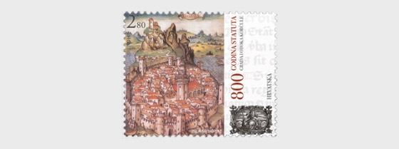 800th Ann - Statue of the Town & Island of Korcula - Set