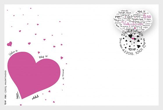 Día de San Valentín - Sobre de Primer Dia