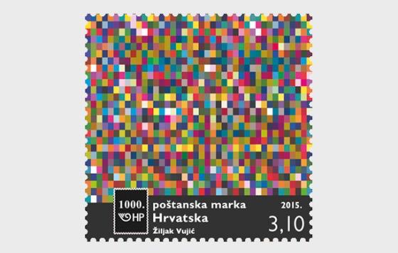 Die 1000. Briefmarke - Serie