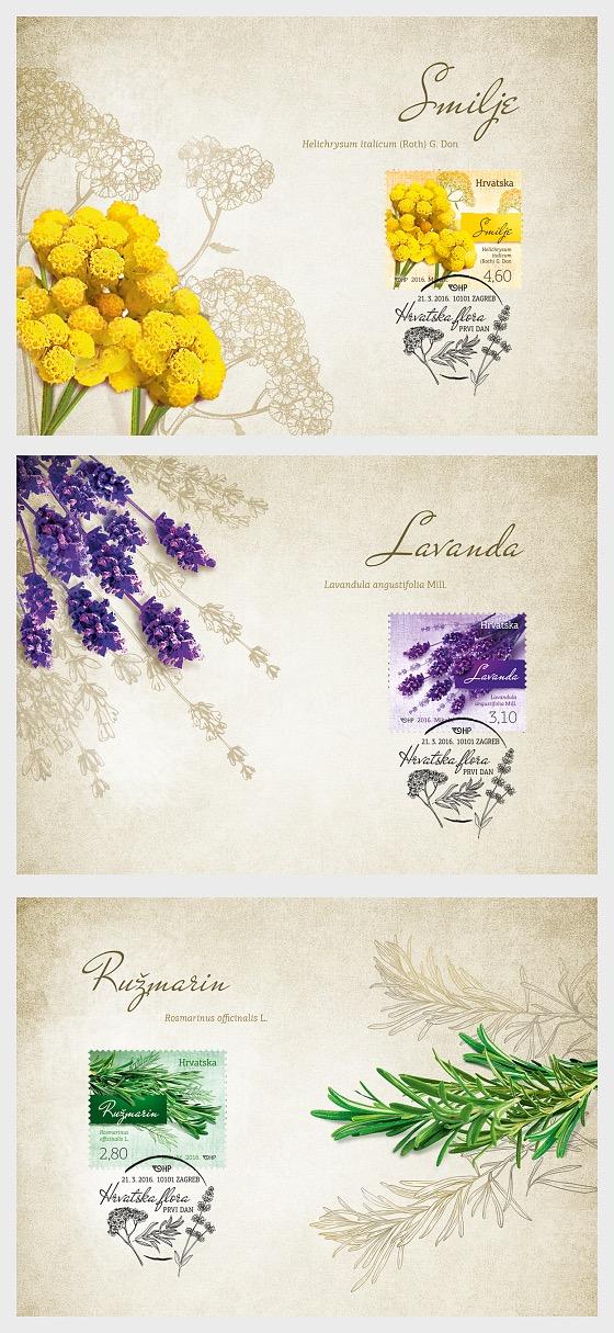 Croatian Flora - Maxi Cards