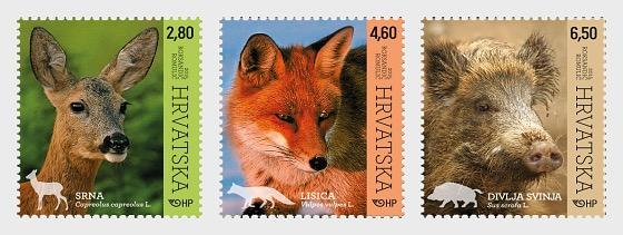 Fauna Croata - Animales del Bosque - Series