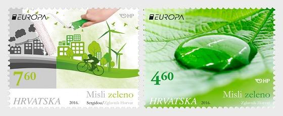 Europa 2016 - Think Green - Set