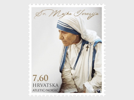 Proclamation of Mother Theresa as a Saint - Set