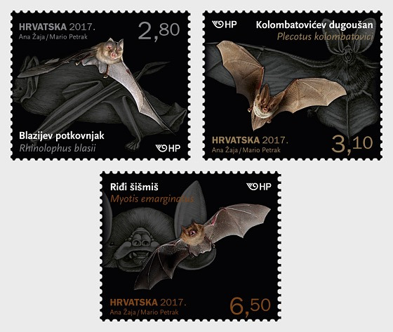Croatian Fauna- Bats  - Set
